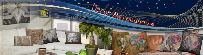 Decor Merchandise banner