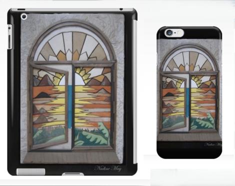 leather window