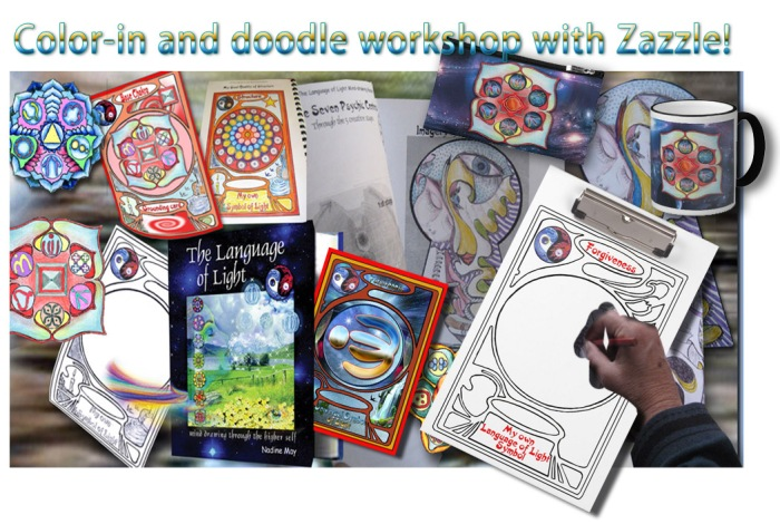 doodle workshop with Zazzle for blog