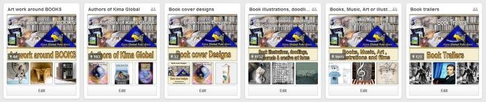 kima books