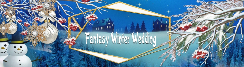 This image has an empty alt attribute; its file name is fantasy-winter-wedding.jpg